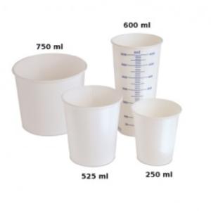 bicchiere monouso graduato 600 ml